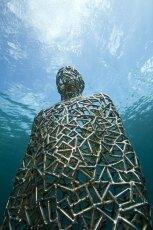 Underwater sculpture by Jason deCaires Taylor. Photo © Jason deCaires Taylor