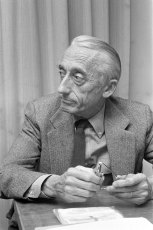 Jacques-Yves Cousteau at the Hague in 1972. Photo: Archives of the Netherlands (Public Domain)