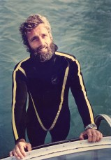 Philippe Cousteau after a dive off the island of Isabella, near Mazatlan, Mexico. Photo by EarthEcho International (Creative Commons)