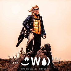 Nathalie Lasselin is the founder of the Urban Water Odyssey. Photo ©Pixnat