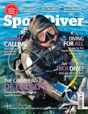Rosemary Lunn on the cover of Sport Diver Magazine (Fair Use)