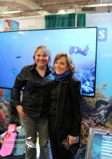 Rosemary Lunn and Sylvia Earle. Photo © The Underwater Marketing Company