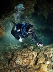Diving Ginnie Springs (Florida) in 2013. Photo © Jill Heinerth