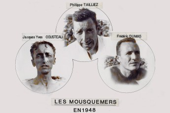 The Mousquemers. Photo by Philippe Tailliez (Creative Commons)