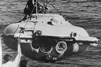 Cousteau's DS-2. Photo by U.S. Navy (Public Domain)