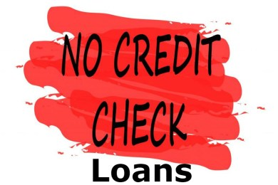 Is it possible to get a loan without a credit check? 1