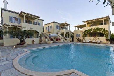 staying at villa