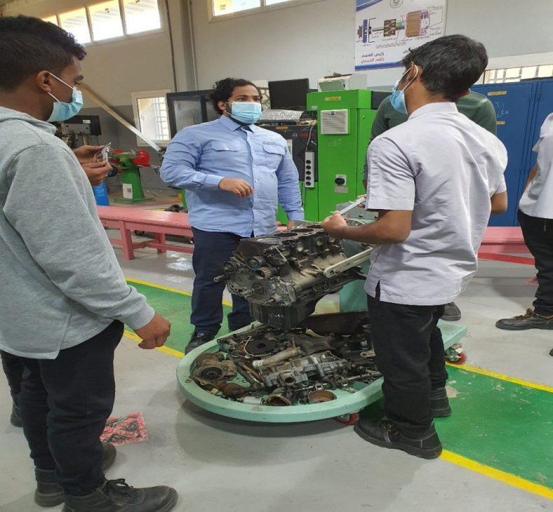 Muneer Lyati, a successful mechanical engineer in Saudi Arabia 2