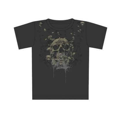 Tricou Amphibious Outfitters Pepper Skull