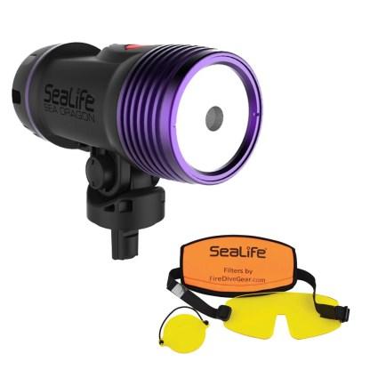 Reflector subacvatic SeaLife Sea Dragon Fluoro-Dual Beam / SL673
