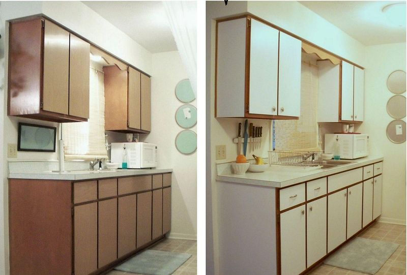 Forrar los armarios de la cocina con vinilo (tendencias julio 2018)