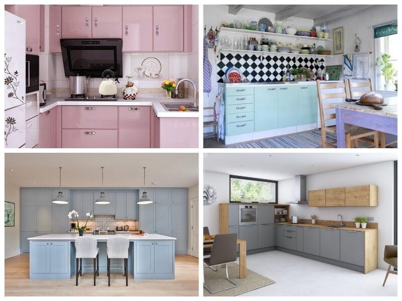 Forrar los armarios de la cocina con vinilo tendencias - Vinilos para puertas de armarios de cocina ...