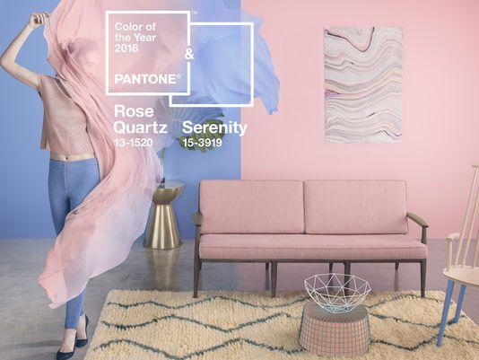 rosa cuarzo y azul serenity colores Pantone 2016