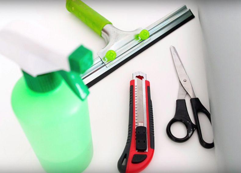 materiales para forrar con vinilo adhesivo