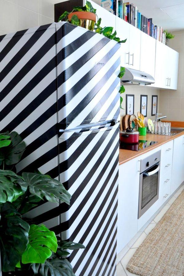 ideas para renovar el frigorífico con vinilo adhesivo