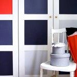 5 ideas para forrar con vinilo las  puertas de un armario