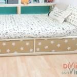 Forrar muebles con vinilo adhesivo: mismo mueble y diferentes opciones