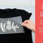 Cómo aplicar vinilo textil con plancha doméstica (vídeo tutorial)