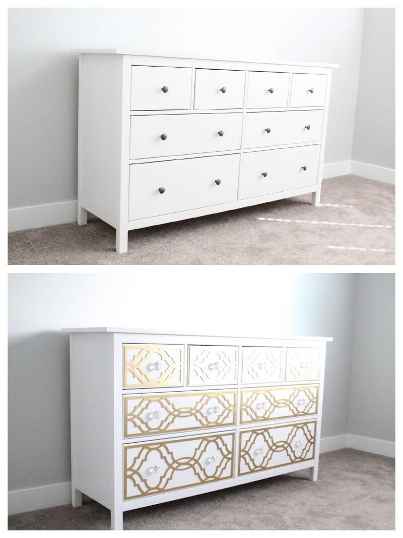 Vinilo adhesivo para muebles plata brillo papel pintado - Rollos adhesivos para muebles ...