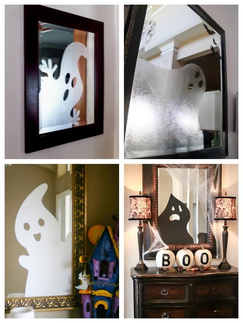 Ideas De Decoración En Halloween Con Vinilo Adhesivo
