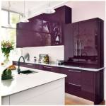Ultra Violet: renueva la cocina con vinilo adhesivo del color del 2018