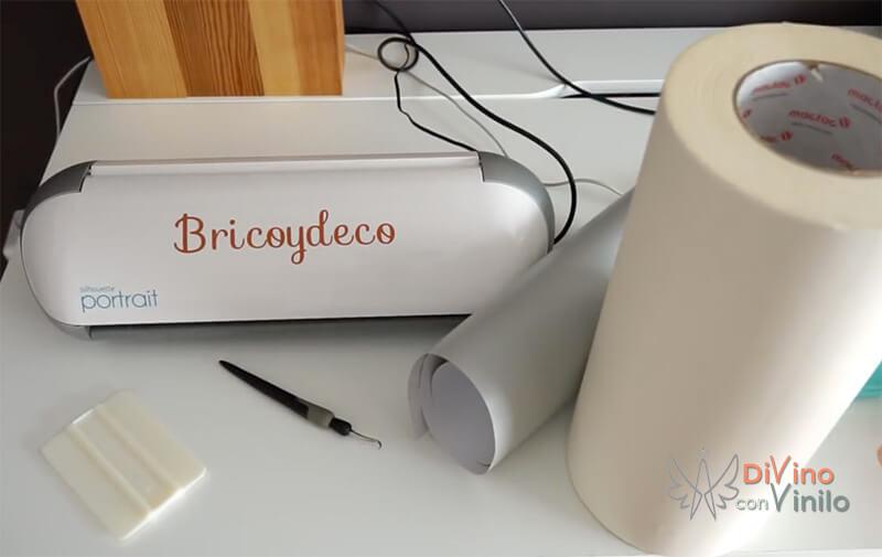 materiales para hacer letras de vinilo adhesivo