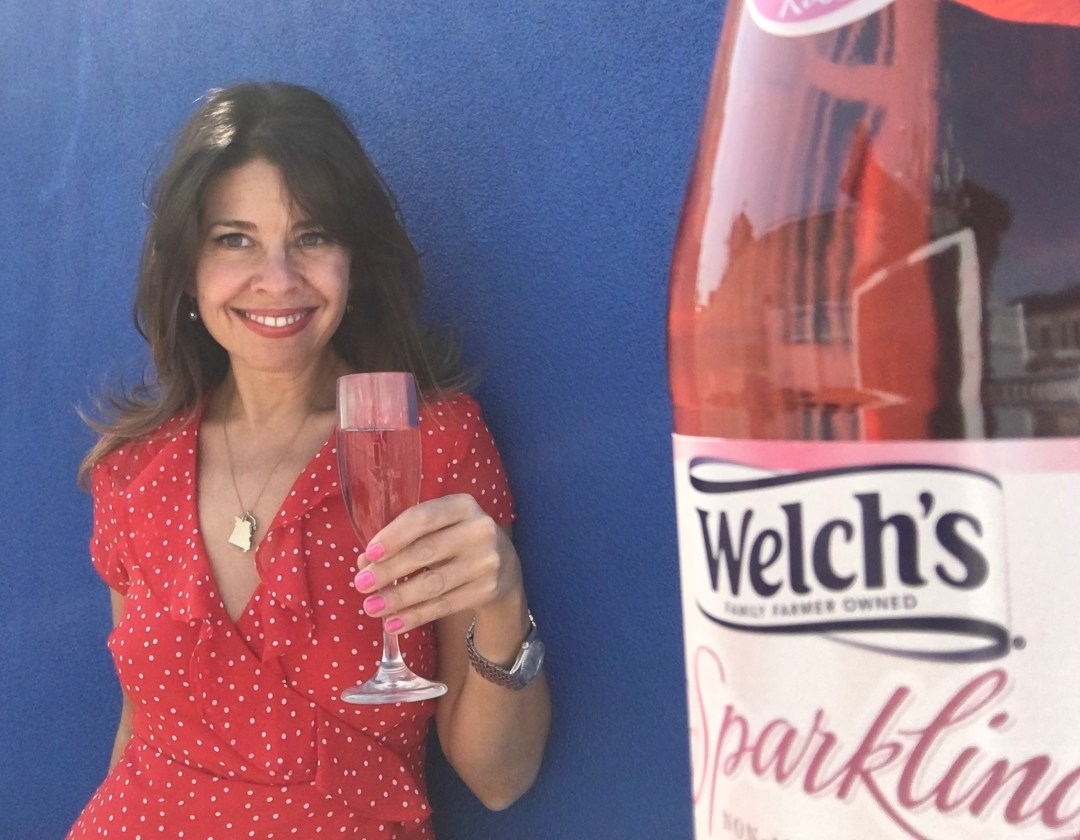 Spokeswoman for Welch's Sparkling Rosé