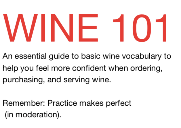Wine 101: Wine Essentials for HSBC