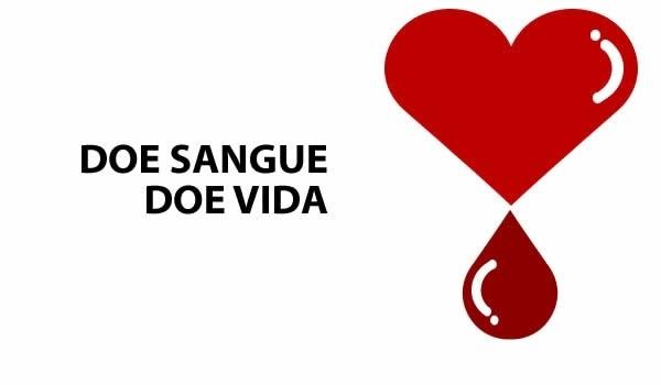 Doar sangue é doar vida
