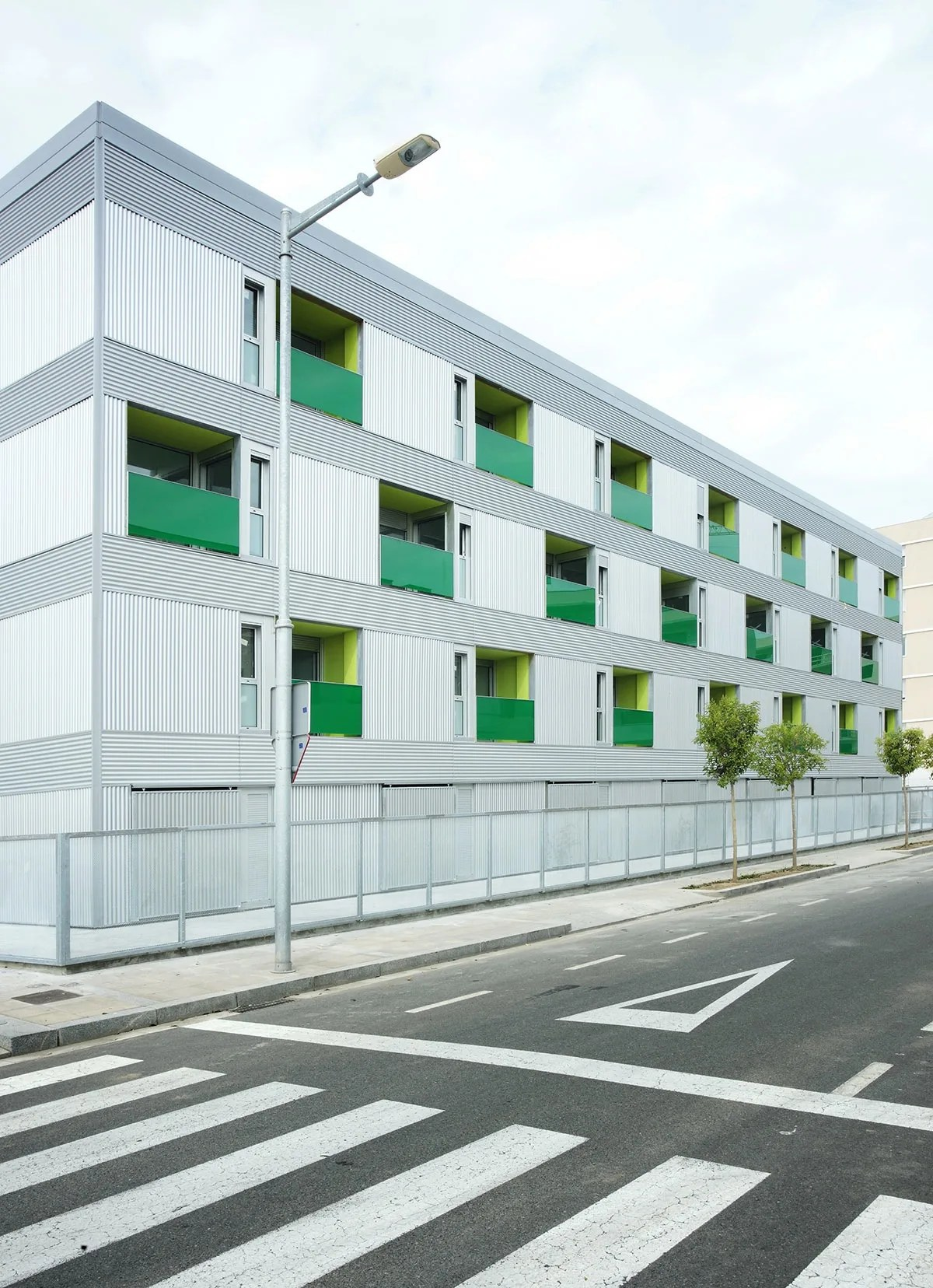 44 units social housing in pardinyes