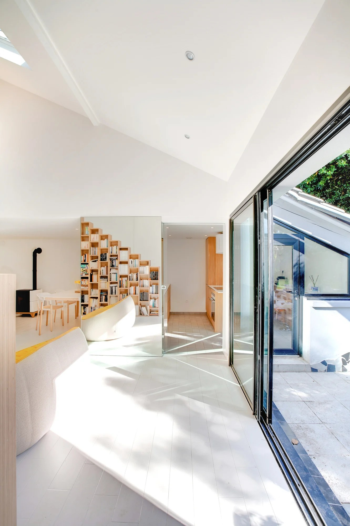 Andrea Mosca Creative Studio The Bookshelf House Divisare
