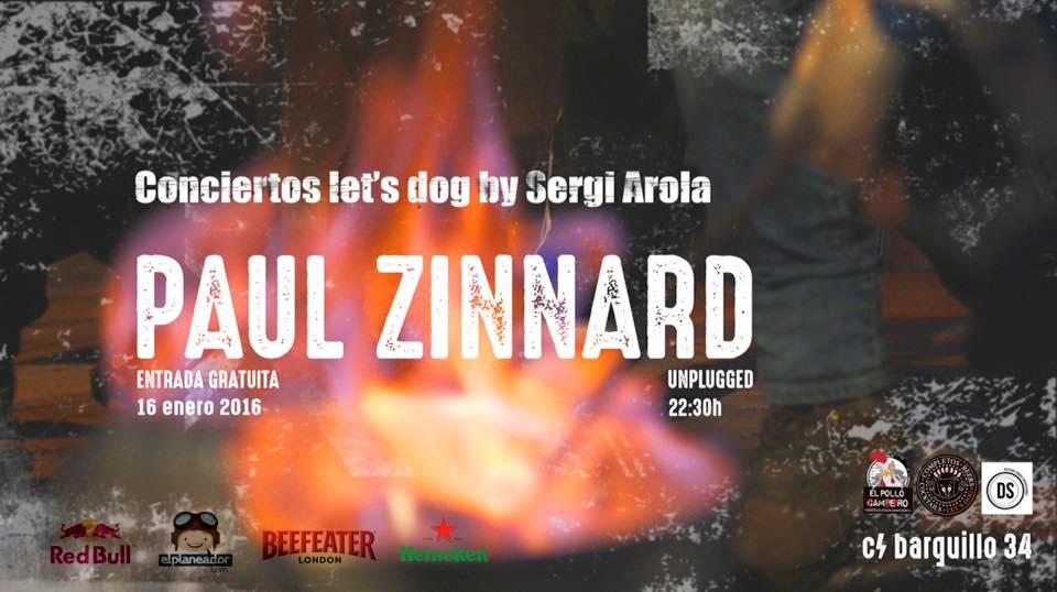 PAUL ZINNARD En Acustico y GRATIS