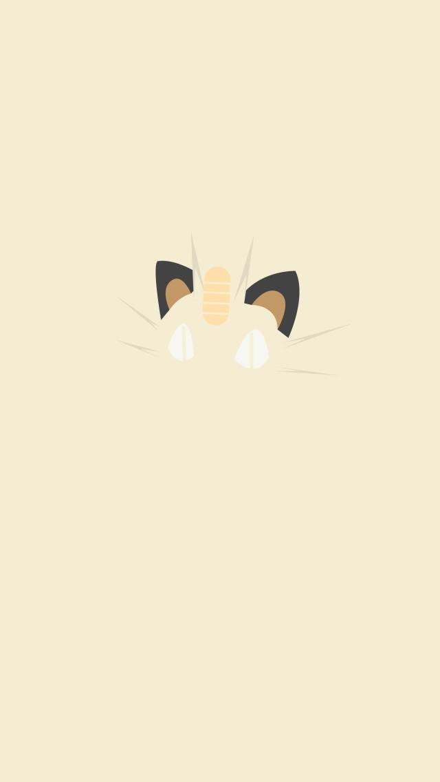Iphone Meowth Wallpaper
