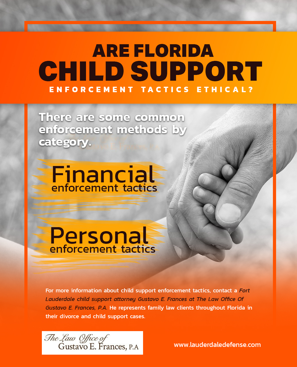 Are Florida Child Support Enforcement Tactics Ethical
