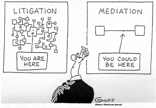 Litigation vs. Mediation