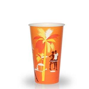 """Бумажный стакан 330 мл """"Пляж"""" 50..."""