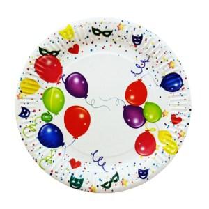 Бумажная тарелка Ø230мм 50 шт