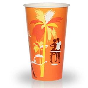 """Бумажный стакан 500 мл """"Пляж"""" 50..."""