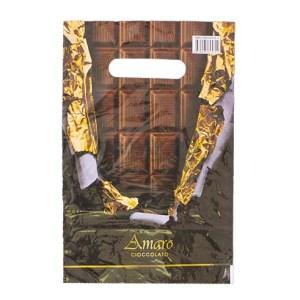 Пакет 20х30 Горький шоколад 100 шт