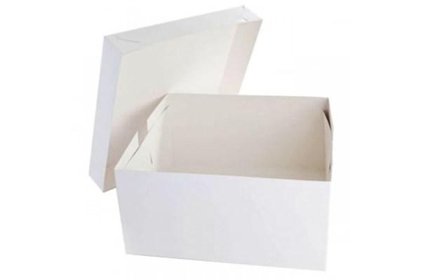 ДоЭко Короб для тортов белый EB 190 300х300х190 Патичерри (50шт)