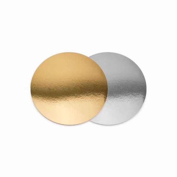 ДоЭко Подложка 0,8мм д220мм золото/серебро GWD (100шт)