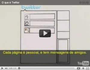 """Vídeo """"O que é o Twitter"""""""