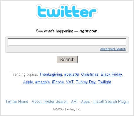 SearchTwitter