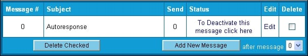 Freeautobot botão message control controle de mensagens list listas