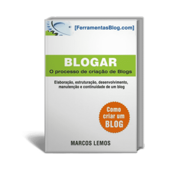 Ebook Blogar de Marcos Lemos do Ferramentas Blog