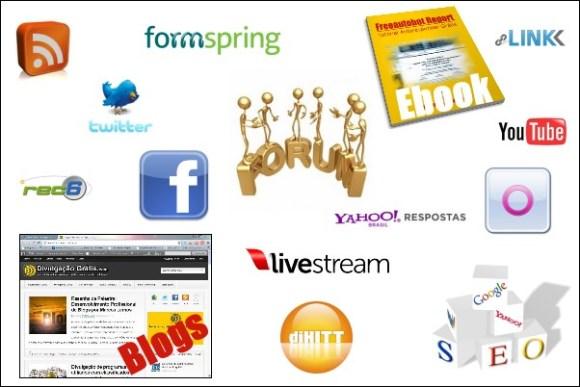 Técnicas de divulgação grátis na Internet - como divulgar blogs grátis
