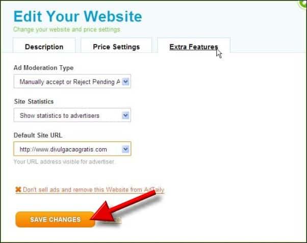adtaily registro como vender publicidade no seu site ou blog