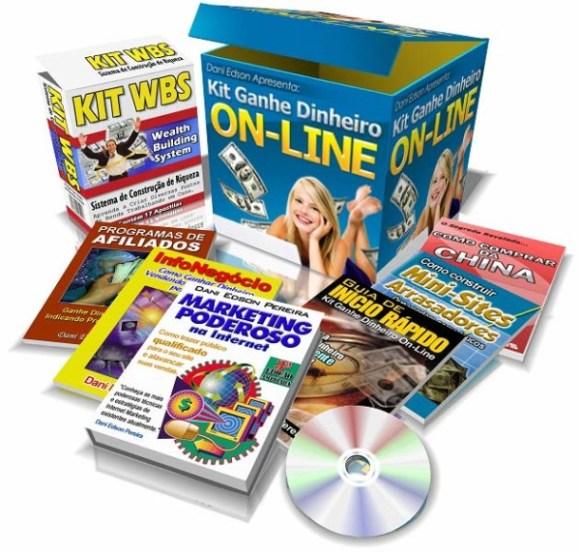 kit ganhe dinheiro online de dani edson ebook marketing na internet