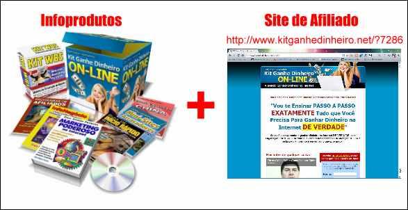 infoprodutos kit ganhe dinheiro online site afiliado internet