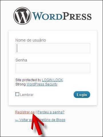 registrar cadastro divulgar blogs